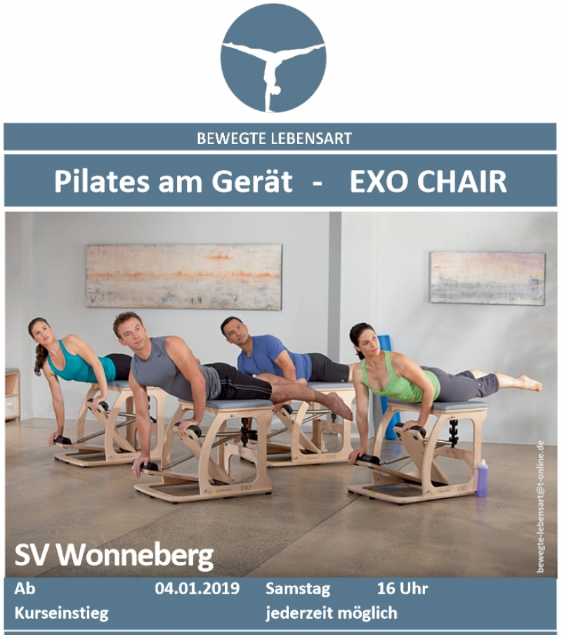 Pilates am Gerät