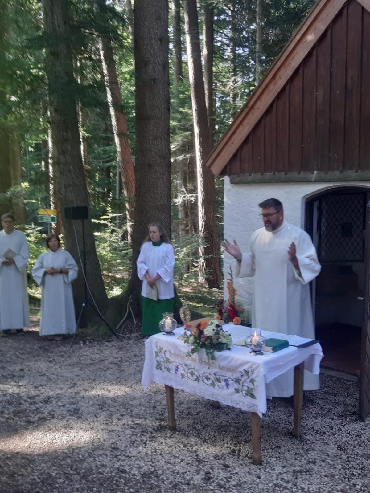 150 Wallfahrer besuchten feierlichen Gottesdienst in Maria Tann