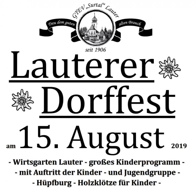 Lauterer Dorffest