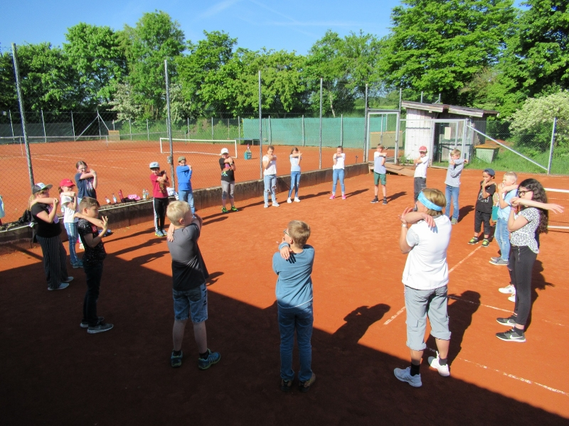 Tennis-Schnupperstunde in Otting