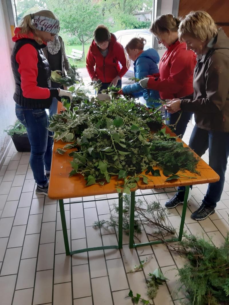 Gedenkgottesdienst des Obst- und Gartenbauvereins Wonneberg