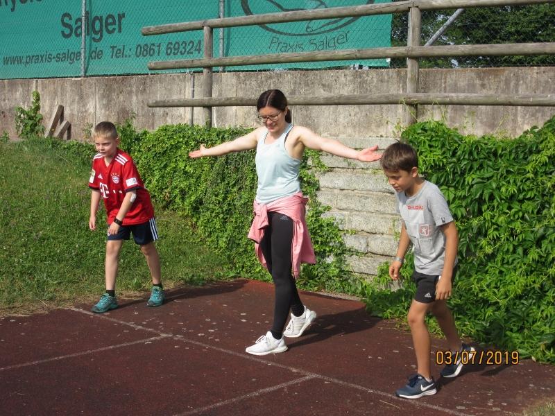 Sportfest der Grundschule Otting-Wonneberg