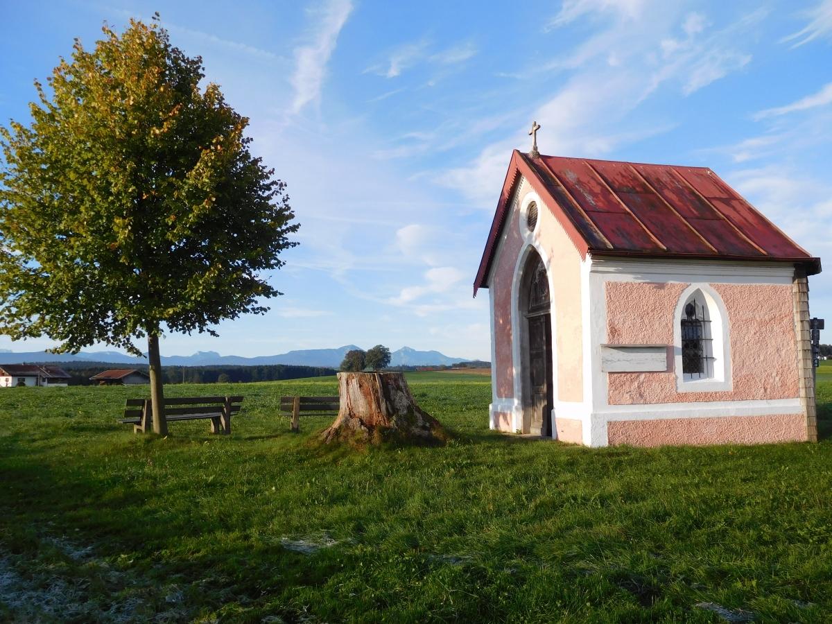 die Stupper-Kapelle in Untermoosen