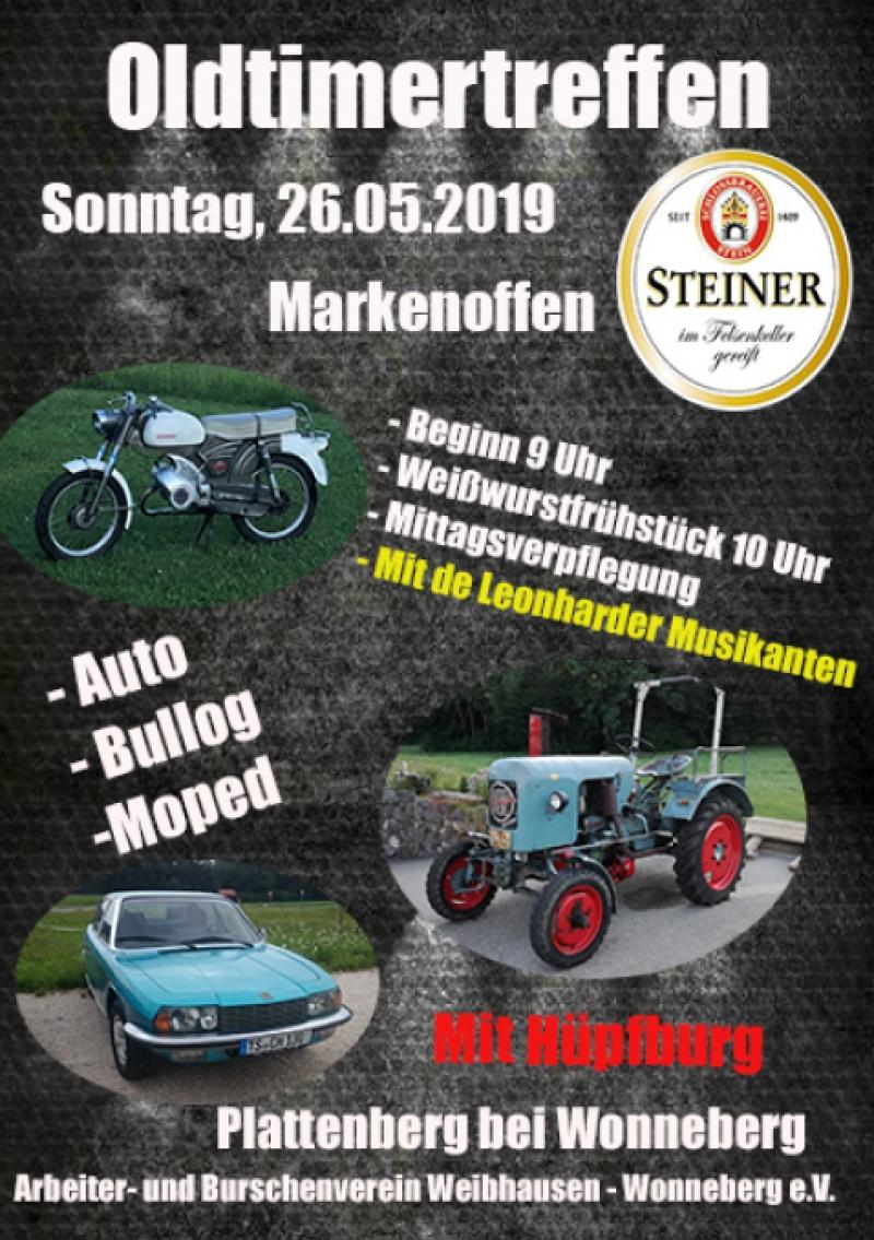 Oldtimertreffen in Plattenberg