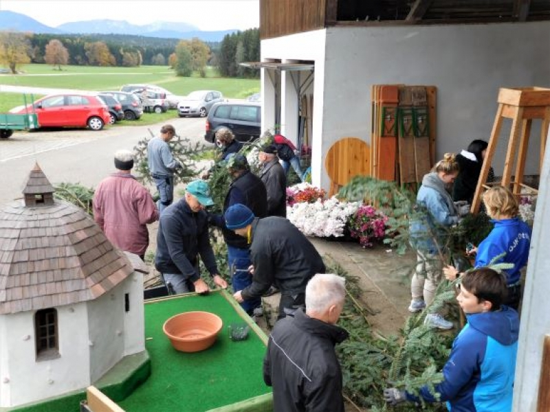 Vorbereitungen für den Leonhardi-Ritt 2019