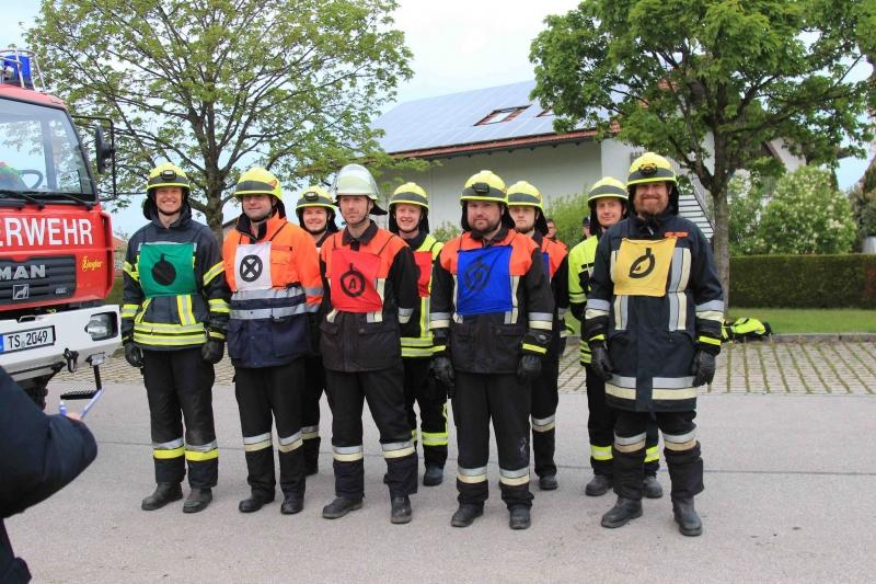Leistungsprüfung bei der Freiwilligen Feuerwehr Wonneberg